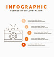 camera photography capture photo aperture vector image vector image
