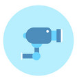 cctv video camera icon security concept vector image