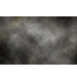 Dark smoke background vector image vector image