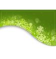 Green Xmas Background vector image vector image