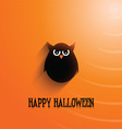 halloween owl background 2508 vector image vector image