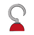 hook icon image vector image vector image