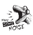 make some noise vector image