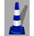 Road signs Orange Badge guardrails vector image