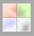 set paper abstract vector image