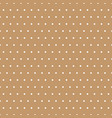white polka dots on beige background vector image vector image