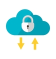 Cloud storage vector image