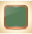 Chalkboard icon vector image vector image