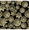 Gears seamless pattern vector image vector image