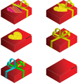 gift case vector image vector image