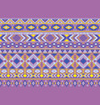 ikat pattern tribal ethnic motifs vector image