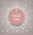 texture-snow-sale-five-pink vector image vector image