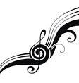 the symbols of music vector image vector image