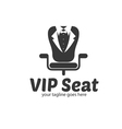 VIP Seat Logo vector image vector image