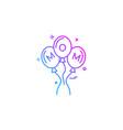 Balloons icon design