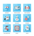 Banking and Finance vector image vector image