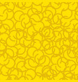 golden fleece seamless pattern yellow fur ram vector image