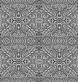 Monochrome hand drawn seamless pattern vector image