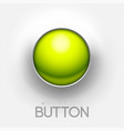 technical green button push background vector image