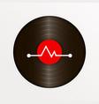 vinyl logo for your website vector image vector image