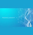 abstract scientific background with dynamic vector image