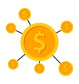 Crowdfunding Icon vector image
