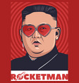 rocketman thum vector image vector image