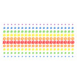 service tools shape halftone spectral grid vector image