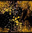 splash seamless pattern fashion concept vector image vector image