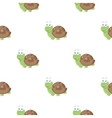 Turtle icon in cartoon style isolated on white vector image