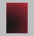 abstract halftone dot background pattern brochure vector image vector image