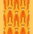camel pattern seamless animal uae beast desert vector image vector image