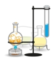Chemical Bottels vector image