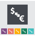 Currency exchange 2 vector image vector image