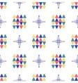 Geometric seamless pattern Textile minimal design vector image vector image
