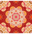 Oriental lace seamless pattern vector image vector image