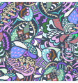 seamless abstract colored pattern vector image vector image