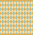 seamless geometric rhombuses pattern vector image vector image