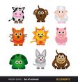 Set of animals vector image