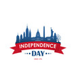 4th july american national holiday vector image