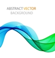 Abstract waves design vector image vector image