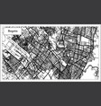 bogota colombia city map in black and white color vector image vector image