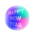 congratulation Happy New Year vector image vector image