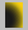 Geometrical halftone circle background pattern