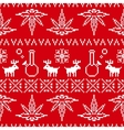 pixel art christmas weed seamless vector image