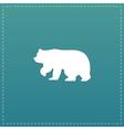 Bear symbol vector image vector image