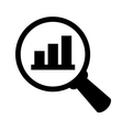 Business analysis icon vector image