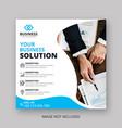 business instagram post template vector image vector image