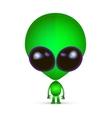 Cartoon Character Funny Alien vector image vector image