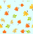 colored seamless pattern vector image
